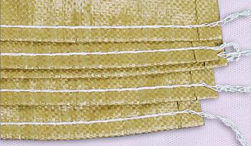 普黄编织袋展示