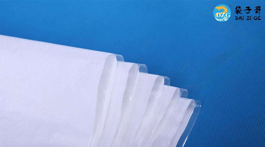 冠福白色编织袋客户案例
